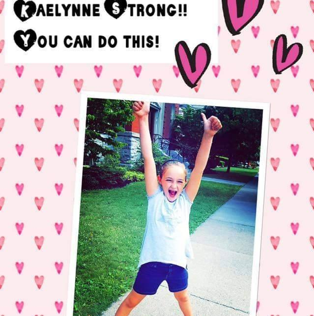 Kaelynne Driscoll. Photo courtesy of Kaelynne's Army.